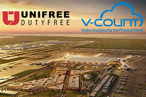 Unifree Duty Free Chose V-Count Solutions For The Biggest Duty Free In The World!